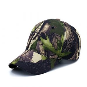 Baiter Unisex camuflaje gorra de béisbol Simplicity al aire libre mujeres sol sombrero hombres pesca sombrero Woodland camuflaje táctico Peaked Cap para senderismo y caza
