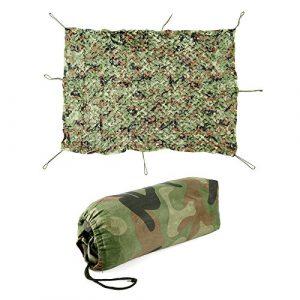 CLE DE TOUS - 2mx1.5m / 3mx2m / 4mx2m Malla Red Net para Camuflar Acampada Camping Caza War Game Camuflaje